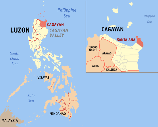CEZA is Located at Cagayan, Northern Luzon Region 2 Philippines